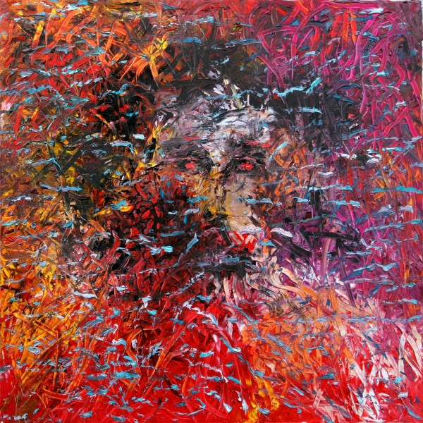 """CONFUSION"" Oil on canvas 100 cm x 100 cm"