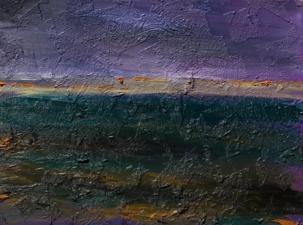 """""""13"""" 60 cm x 80 cm Acrylic and Oil"""